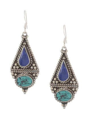 Turquoise-Blue Earrings