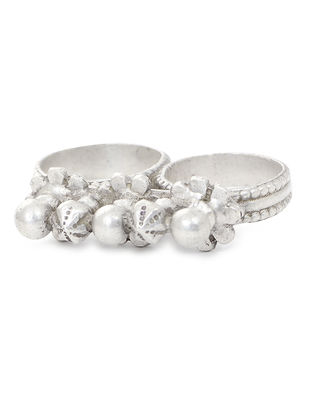 Tribal Silver Ring (Ring Size -8.2)
