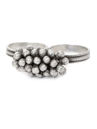 Tribal Silver Ring (Ring Size -9.2)