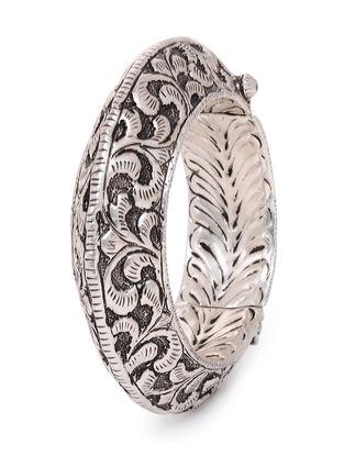 Tribal Silver Bangle ( Bangle Size - 2/6)