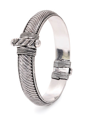 Tribal Silver Bangle ( Bangle Size - 2/8)