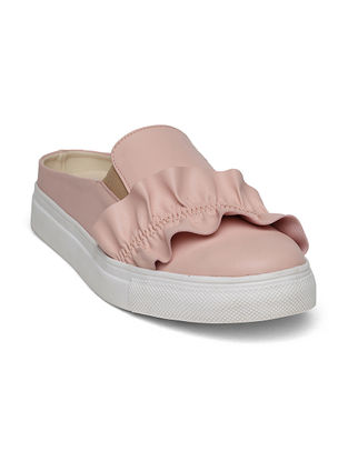 Pink Handcrafted Shoes