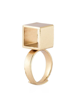 Cube Adjustable Ring