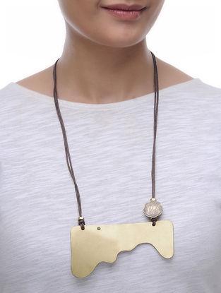 Classic Ten Paisa Coin Brass Necklace