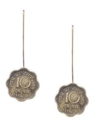 Classic Ten Paisa Coin Earrings