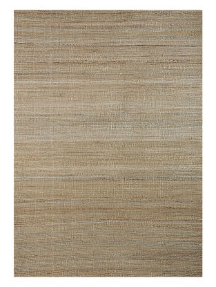 Grey Handwoven Jute and Cotton Dhurrie (L:5ft10in, W:4ft)