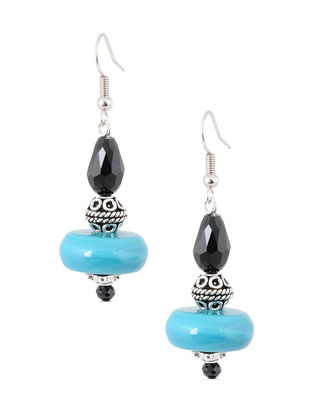 Black-Blue Earrings