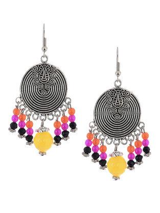 Multicolored Brass Earrings