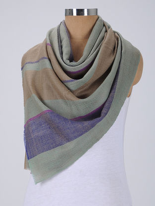 Grey-Brown Pashmina Stole