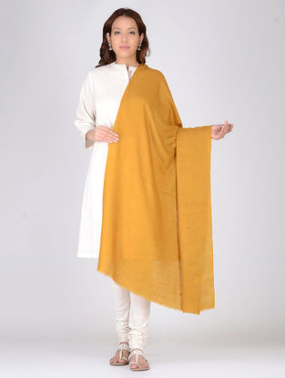 Mustard Pashmina Shawl