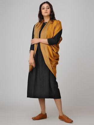 Yellow-Beige Pashmina Cashmere Reversible Shawl