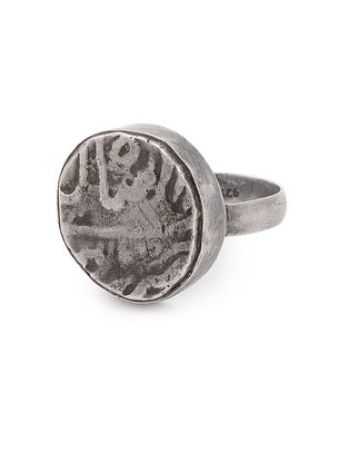 Vintage Silver Ring (Ring Size - 9.5)