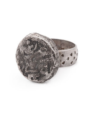 Vintage Silver Ring (Ring Size - 7)