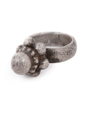 Vintage Silver Ring (Ring Size - 5)