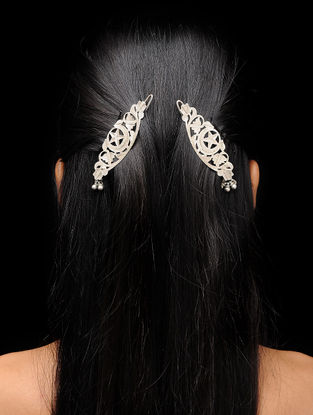 Vintage Silver Hair Accessory (Set of 2)