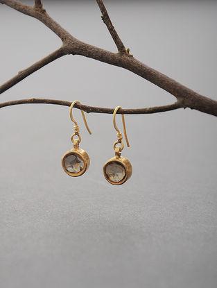 Polki Gold Earrings