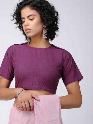 Purple Cotton Blouse