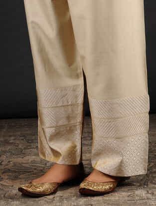 TAABIR - Tussar Munga Pants