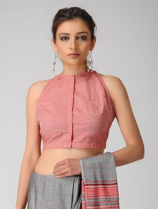 Pink Cotton Blouse