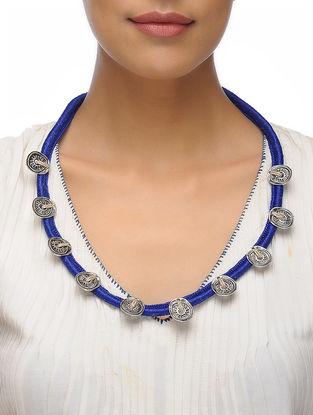Blue Thread Necklace