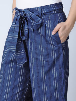Indigo Handloom Cotton Culottes