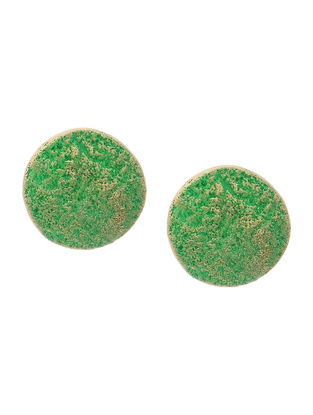Green Clay Earrings