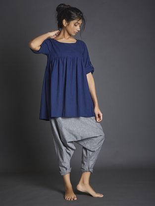 Grey Handspun Khadi Pants