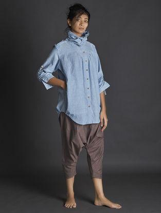 Brown Handspun Khadi Pants