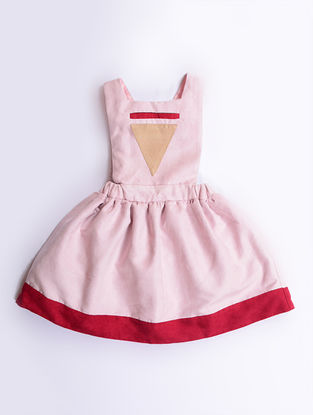 Pink Pinafore Dress
