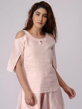 Pink Linen Top