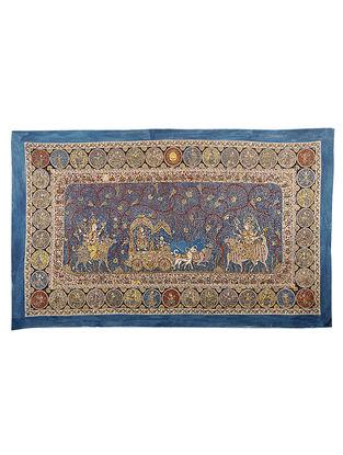 Goddess Hadaksha Mata Ni Pachedi Kalamkari Artwork - 42.5in x 74in