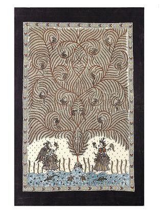 Tree of Life Mata Ni Pachedi Kalamkari Artwork - 45in x 31in