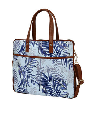 Blue Handcrated Laptop Sleeve