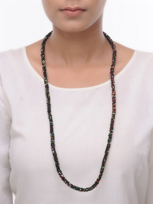 Multicolor Glass Beads Necklace