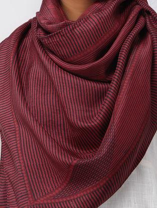 Madder Bagh-printed Silk Stole