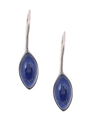 Lapis Lazuli Silver Earrings