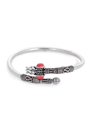 Red Silver Cuff