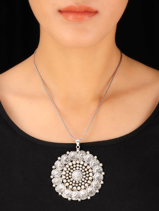 Surya Silver Pendant
