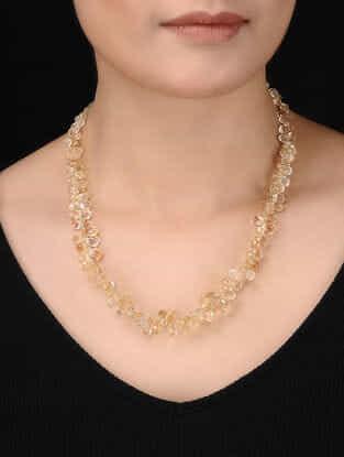 Citrine Silver Necklace