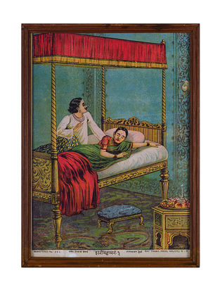 Raja Ravi Varma's Framed