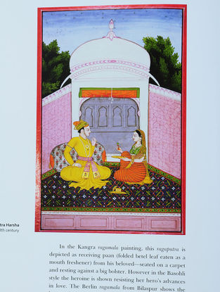 Ragachitra - Deccani Ragamala Paintings By Dr Daljeet (Hardcover)