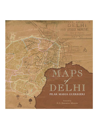 Maps of Delhi-Pilar Maria Guerrieri