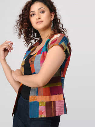Multicolored Upcycled Cotton Jacket