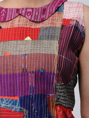 Multicolored Recycled Cotton Blouse