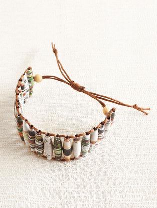 Multicolored Magazine Bracelet