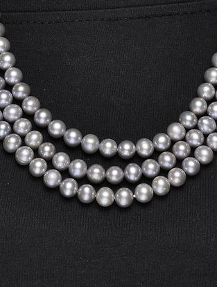 Fresh Water Pearl Pearl Beaded Multi-string Necklace