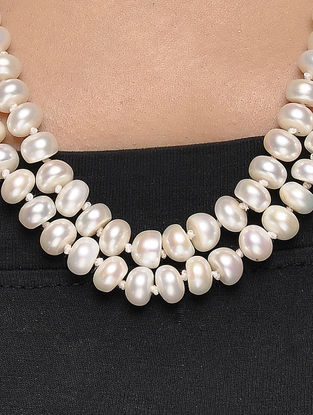 Fresh Water Pearl Beaded Necklace
