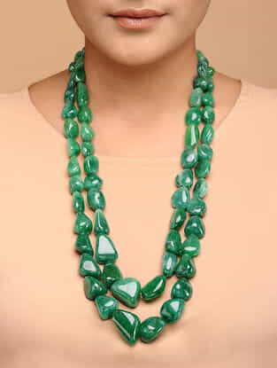 Beryl Beaded Necklace