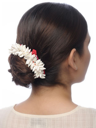 Ivory Handmade Croma Silk Hair Accessory
