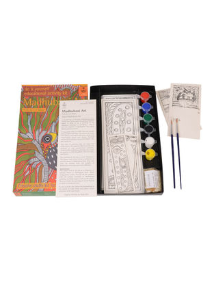 DIY Indian Art Kit - Madhubani Painting of Bihar
